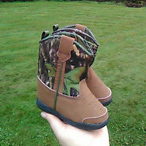 9092b2d430dad Faded Glory Shoes | Boys Camo Boots Size 3 Toddler | Poshmark